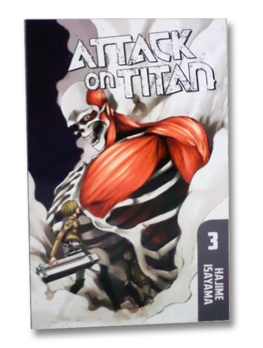 Attack on Titan, Book 3, Isayama, Hajime