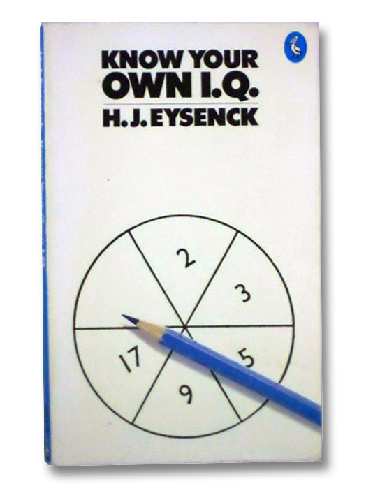 Know Your Own I.Q., Eysenck, H.J.