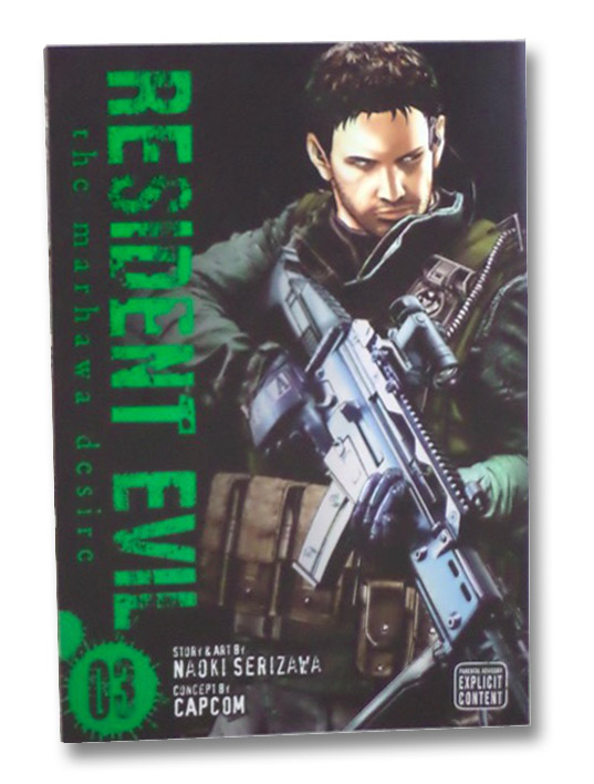 Resident Evil: The Marhawa Desire, Volume 3, Serizawa, Naoki; CapCom