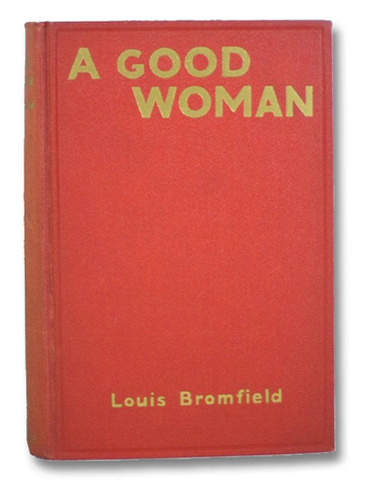 A Good Woman, Bromfield, Louis