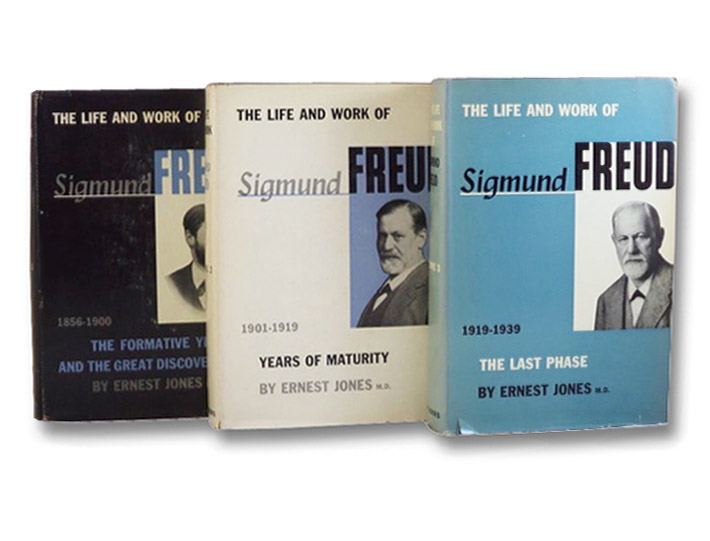 The Life and Work of Sigmund Freud, in Three Volumes: 1856-1900: The Formative Years and the Great Discoveries; 1901-1919: Years of Maturity; 1919-1939: The Last Phase, Jones, Ernest; Freud, Sigmund