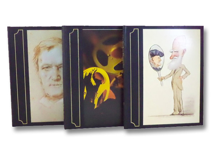 Richard Wagner 3-Volume Set in Slipcase: The Man, His Mind and His Music; The Perfect Wagernite; Ring Resounding, Gutman, Robert W.; Culshaw, John; Shaw, Bernard