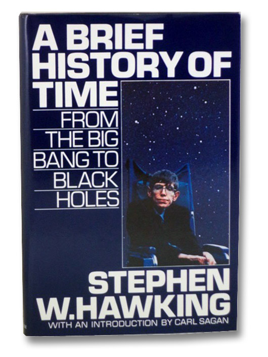 A Brief History of Time, Hawking, Stephen; Sagan, Carl