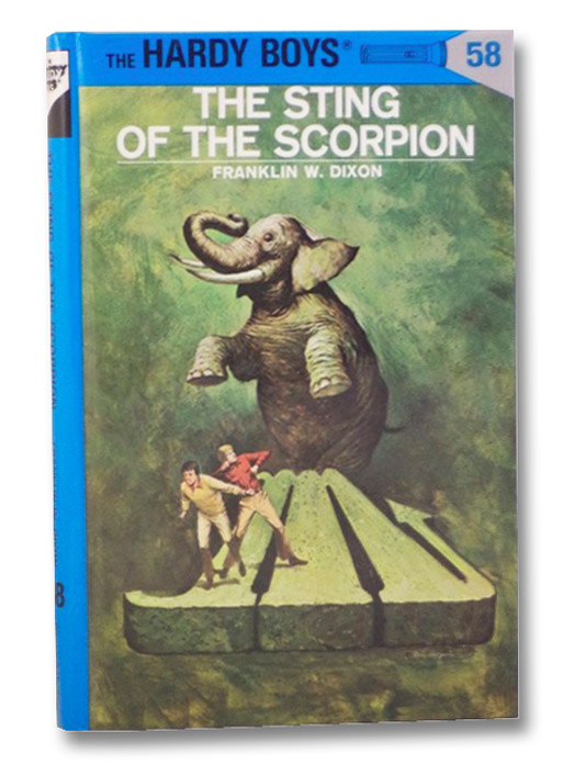The Sting of the Scorpion (The Hardy Boys, No. 58), Dixon, Franklin W.