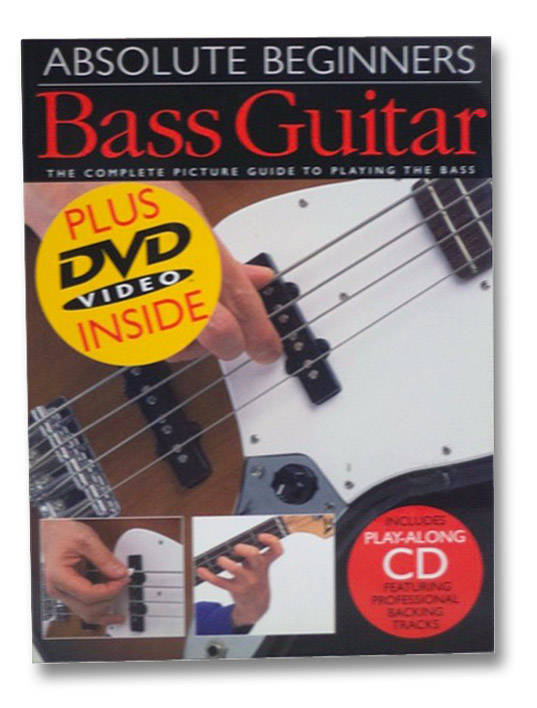 Absolute Beginners Bass Guitar: The Complete Picture Guide to Playing the Bass, Mulford, Phil