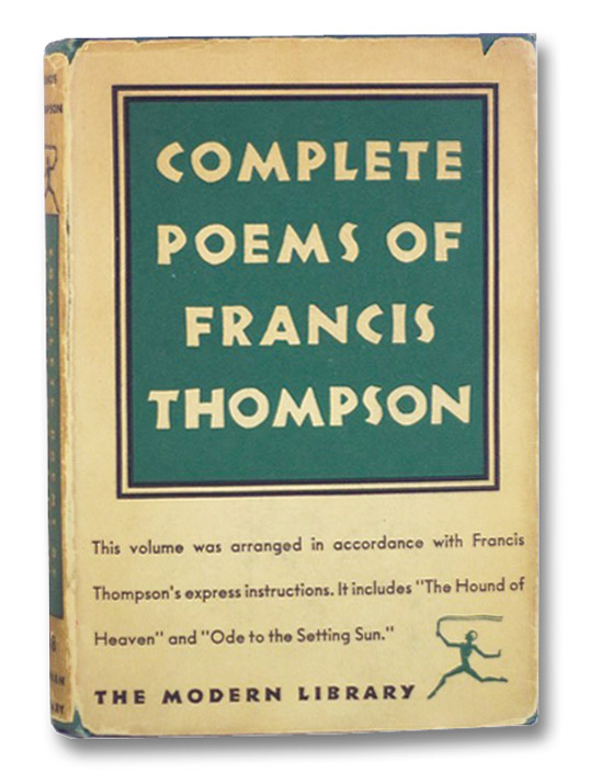 Complete Poems of Francis Thompson, Thompson, Francis