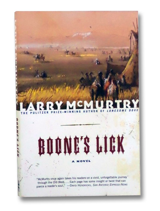 Boone's Lick: A Novel, McMurtry, Larry