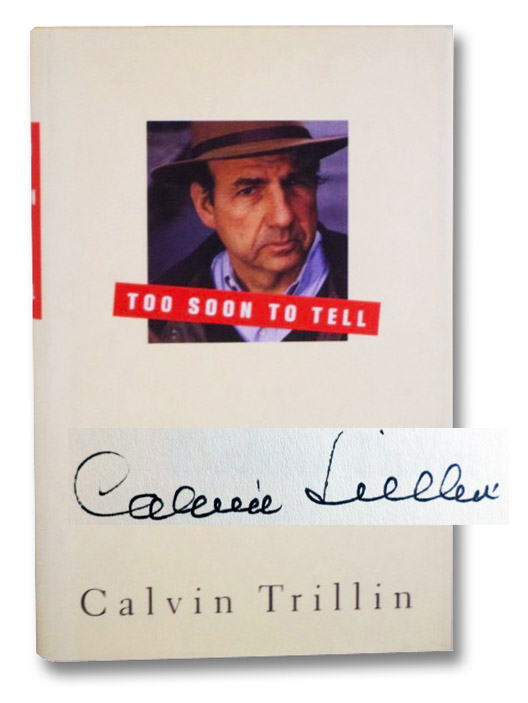 Too Soon to Tell, Trillin, Calvin