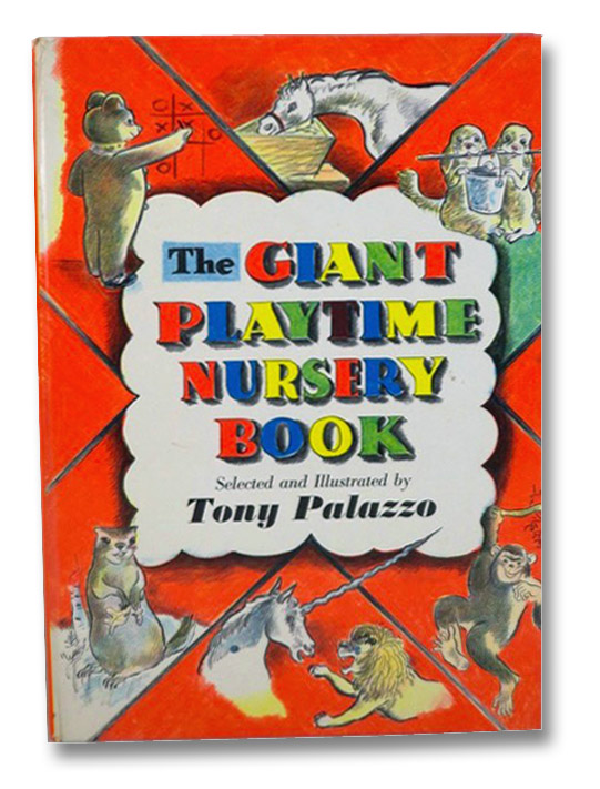 The Giant Playtime Nursery Book, Palazzo, Tony