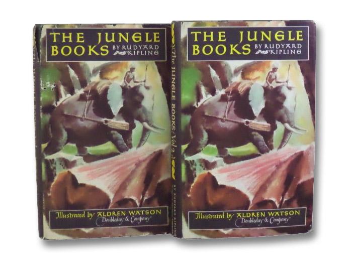The Jungle Books Volumes 1 & 2, Kipling, Rudyard; Nelson Doubleday