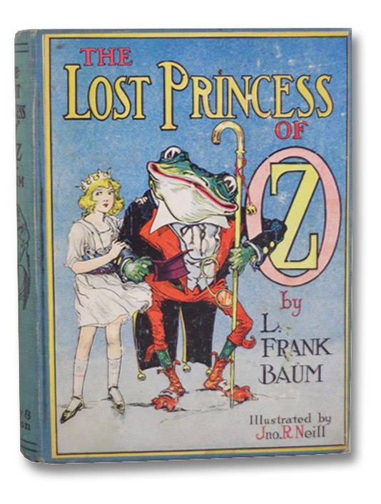The Lost Princess of Oz, Baum, L. Frank