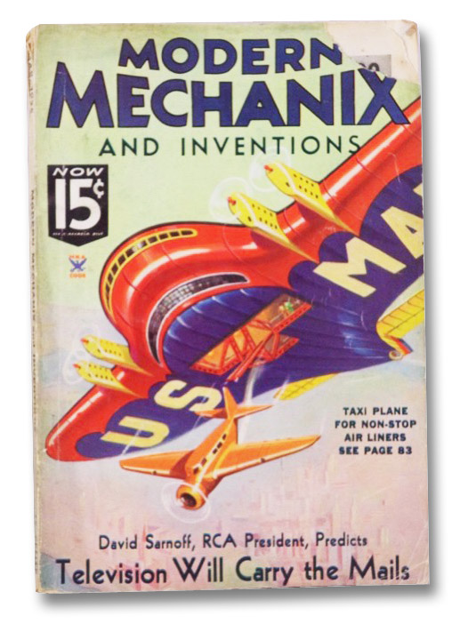 Modern Mechanix and Inventions, March 1935, Volume XIII, Number 5