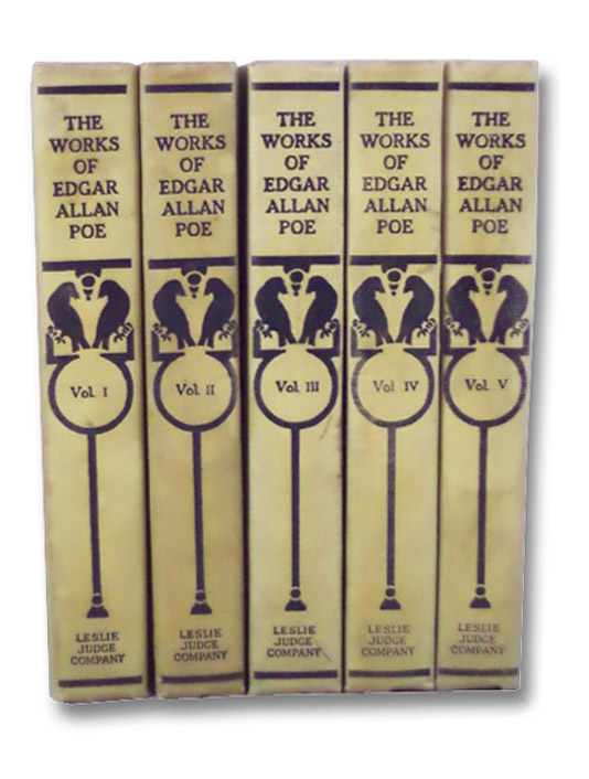 The Works of Edgar Allan Poe, Ten Volumes in Five (Tamerlane Edition), Poe, Edgar Allan; Markham, Edwin