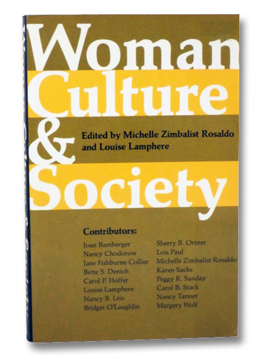 Woman, Culture, and Society, Rosaldo, Michelle Zimbalist
