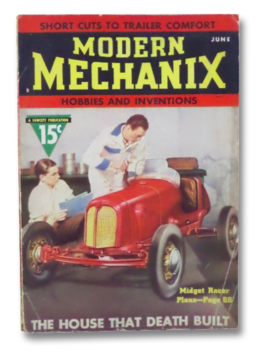 Modern Mechanix and Inventions, June 1937, Volume XIII, Number 2