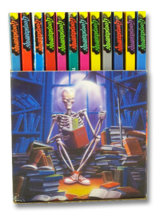 Goosebumps Haunted School Boxed Set: You Can't Scare Me!; The Beast from the East; Piano Lessons Can Be Murder; Night of the Living Dummy; Night of the Living Dummy II; The Curse of the Mummy's Tomb; The Curse of Camp Cold Lake; Why I'm Afraid of Bees; The Haunted School; The Headless Ghost; Go Eat Worms!; The Girl Who Cried Monster, Stine, R.L.