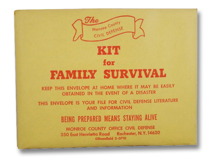 The Monroe County Civil Defense Kit for Family Survival [Government Issued Emergency Cold War Fallout Planning Pamphlets]
