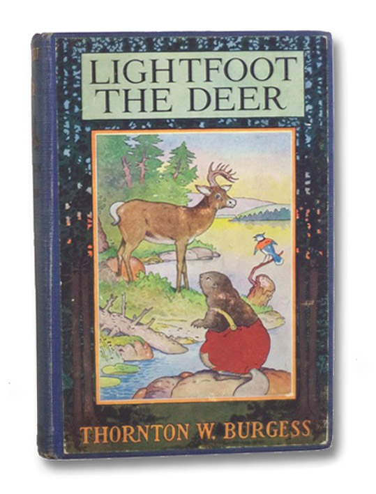 Lightfoot the Deer (Burgess Quaddies Green Forest Series Book 1), Burgess, Thornton W. [Waldo]