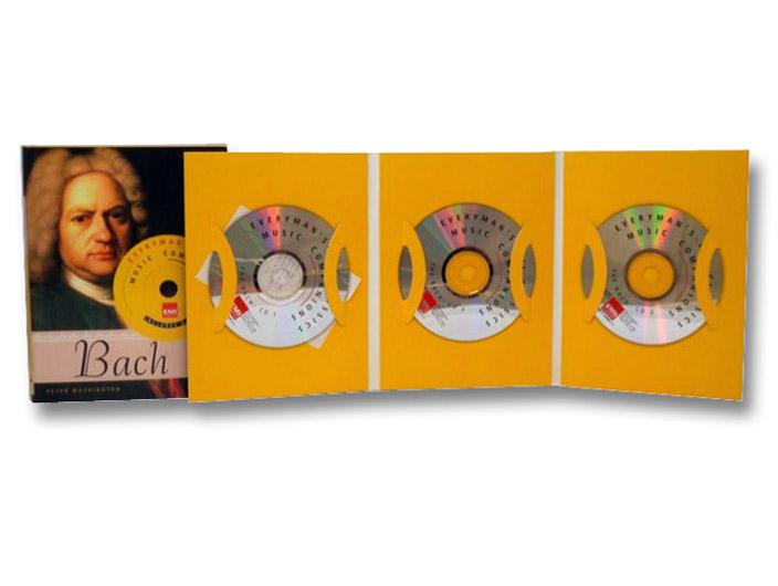 Bach: Everyman's Library-EMI Classics Music Companions, Washington, Peter