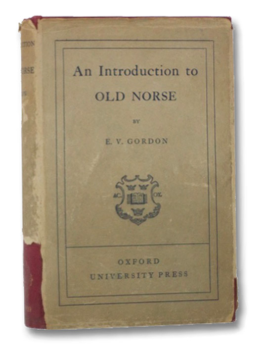 An Introduction to Old Norse, Gordon, E.V.