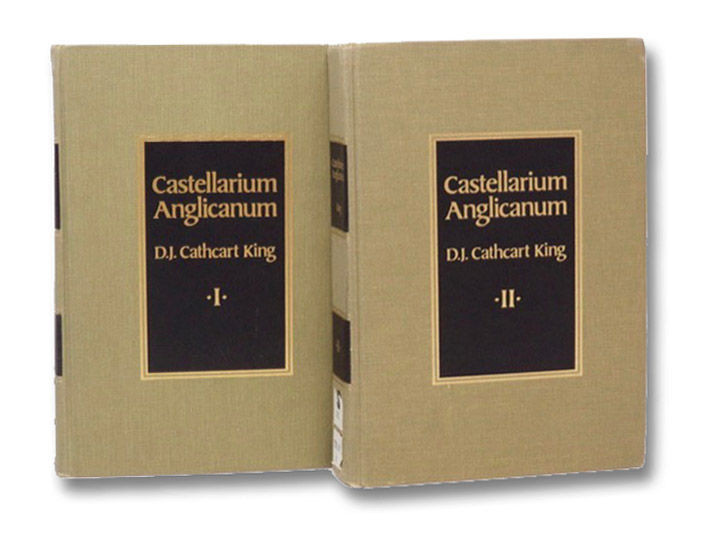 Castellarium Anglicanum: An Index and Bibliography of the Castles in England, Wales and the Islands, in Two Volumes, King, David J. Cathcart