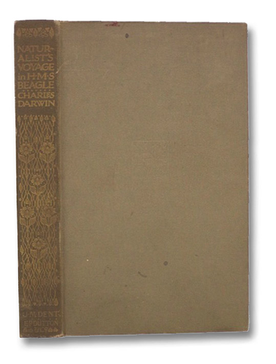 Naturalist's Voyage in HMS Beagle (Everyman's Library), Darwin, Charles; Rhys, Ernest
