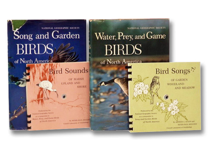 Song and Garden Birds of North America / Water Prey and Game Birds of North America (2 Volumes), Wetmore, Alexander