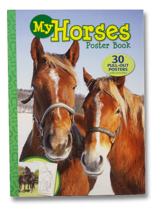 My Horses Poster Book: 30 Pull-Out Posters with Activities