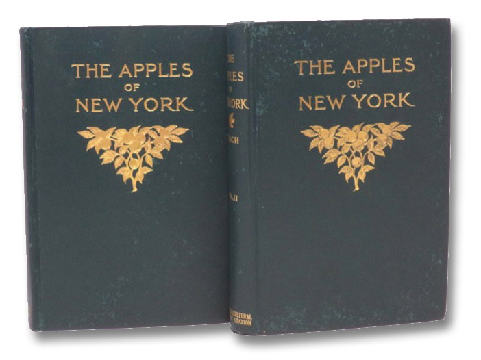 The Apples of New York, Report of the New York Agricultural Experiment Station for the Year 1903, in Two Volumes, Beach, S.A.; Booth, N.O.; Taylor, O.M.