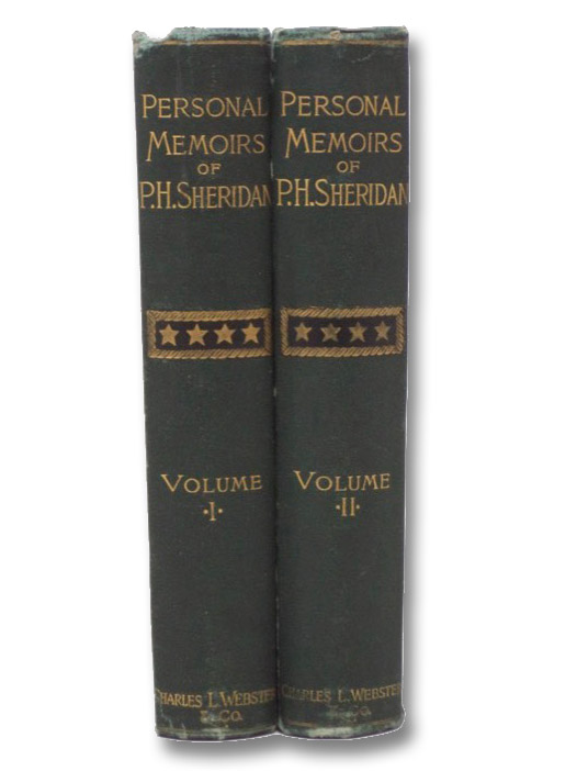 Personal Memoirs of P.H. Sheridan. General United States Army. in Two Volumes ['Shoulder Strap' Edition], Sheridan, P.H. [Philip Henry]