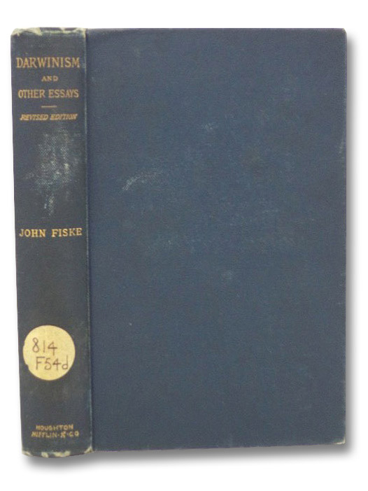 Darwinism, and Other Essays, Fiske, John