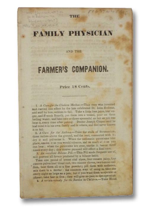 The Family Physician and the Farmer's Companion, [M. Baldwin, the Blind Man]
