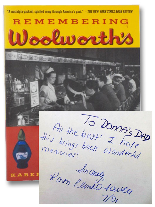 Remembering Woolworth's: A Nostalgic History of the World's Most Famous Five-and-Dime, Plunkett-Powell, Karen