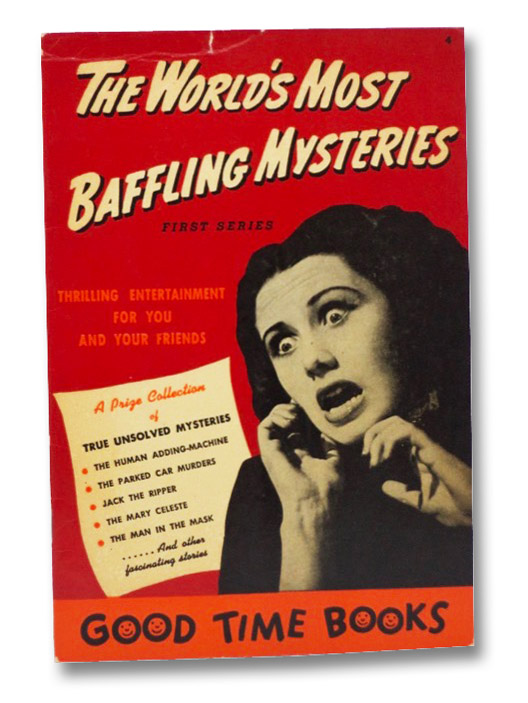 The World's Most Baffling Mysteries (First Series), Hart, Harold