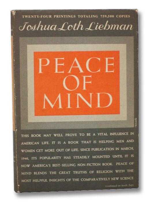 Peace of Mind, Liebman, Joshua Loth