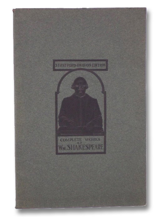 [Salesman's Dummy] Complete Works of Wm. Shakespeare (Stratford-on-Avon Edition), Dyce, Alexander
