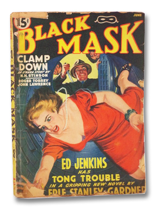 Black Mask Vol. XXIII, No. 2, June, 1940 [Volume 23, Number II], Gardner, Erle Stanley; Torrey, Roger; Lawrence, John; Allenby, Paul; Aitken, Donald S.; Stinson, H.H.