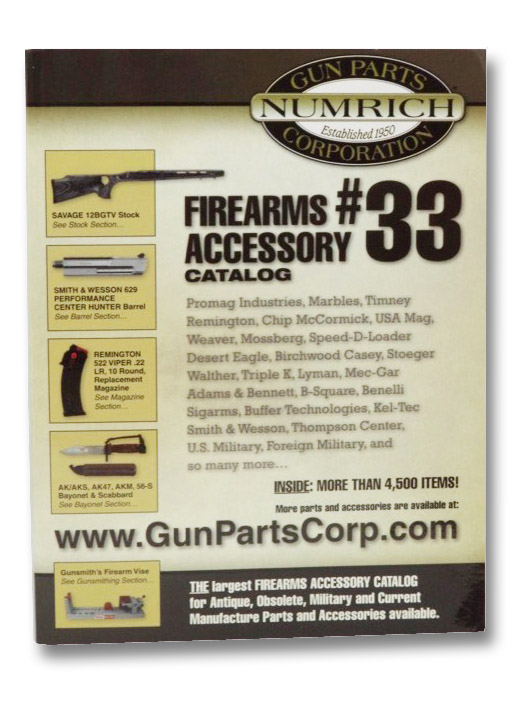 Firearms Accessory Catalog #33 (Numrich Gun Parts Corporation), Numrich Gun Parts Corporation