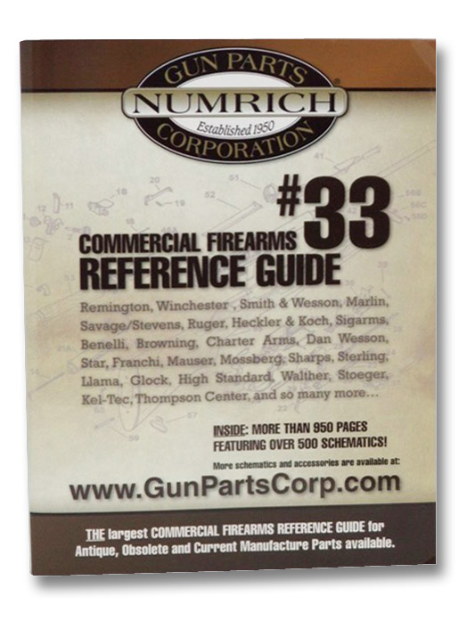 Commercial Firearms Reference Guide #33 (Numrich Gun Parts Corporation), Numrich Gun Parts Corporation