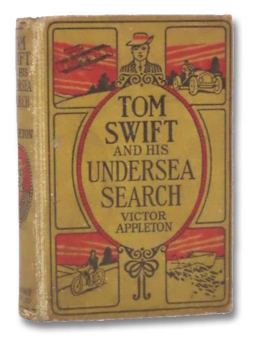 Tom Swift and His Undersea Search, or, The Treasure on the Floor of the Atlantic (Tom Swift Series Book 23), Appleton, Victor