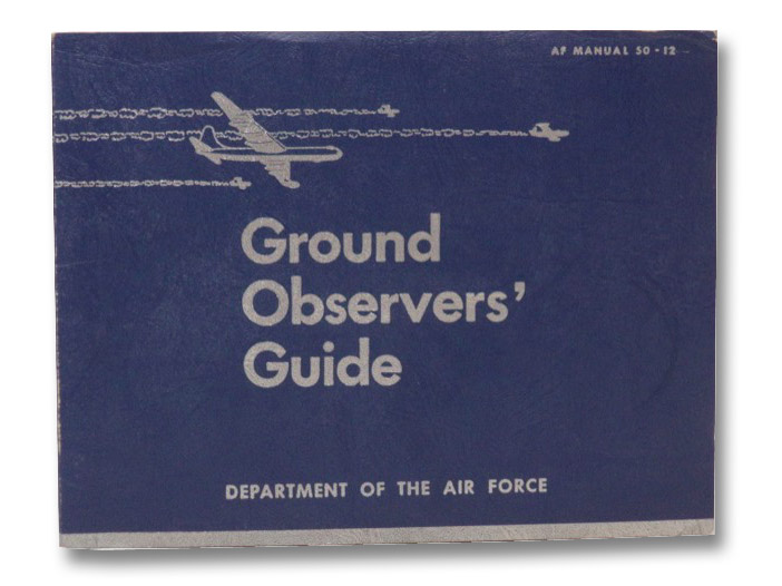 Ground Observers' Guide (AF Manual 50-12), Department of the Air Force
