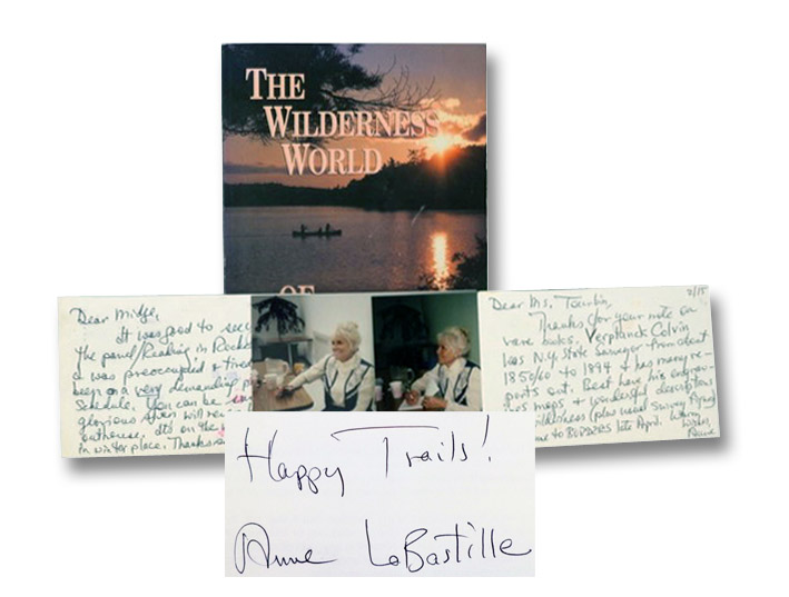 The Wilderness World of Anne LaBastille: A Selection of Never-Before-Published Poems, Plus Her Finest Nature Essays, Short Stories, and Color Photographs, LaBastille, Anne