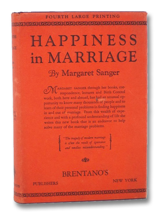 Happiness in Marriage, Sanger, Margaret