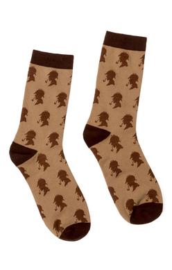 Sherlock Holmes Socks - Large, Out of Print