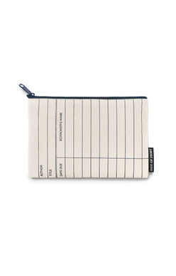 Library Card (Natural) Pouch, Out of Print