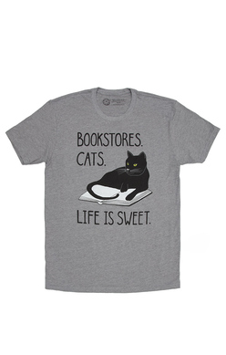 Bookstore Cats - Unisex Small, Out of Print