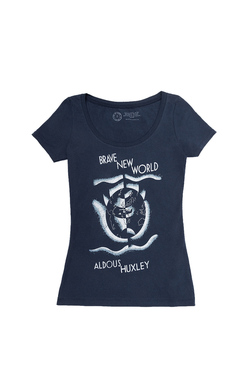 Brave New World - Women's Small (Scoop), Out of Print