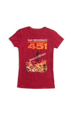 Fahrenheit 451 - Women's Large (Crew), Out of Print