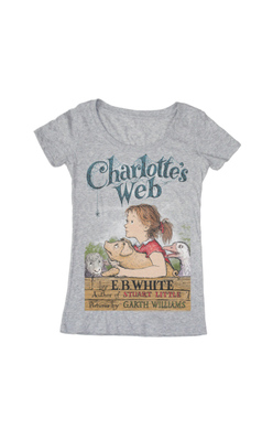 Charlotte's Web - Women's Small (Scoop), Out of Print