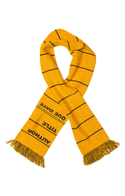 Library Card Scarf (Yellow), Out of Print